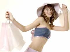 shopping, girl