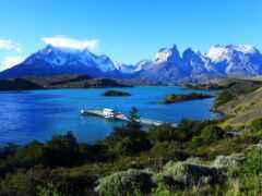 patagonia, озеро, chile