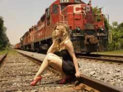 девушка, ксения, rail