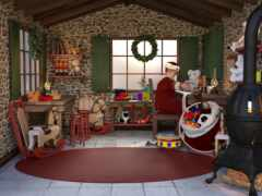 christmas, escape, комната