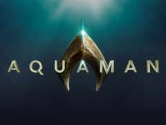 aquaman, logo, аквамен