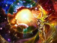 силы, божественное, между