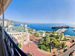 город, monaco, балкон