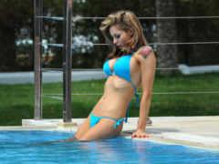 girls, playlist, pool