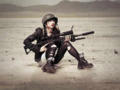 снайпер, снайперы, devushki