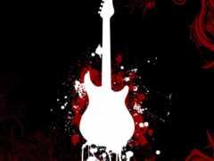 гитара, рубашка