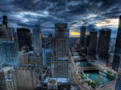 trend, chicago, город
