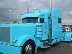 truck, peterbild, semi