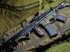 magpul, оружие, винтовка