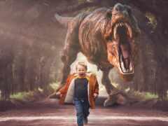 digital, динозавр, rex