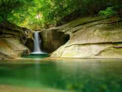 водопад, obryt, заставка