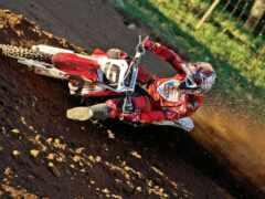 honda, bike, dirt
