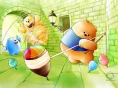 медведь, lotsbear, cartoon