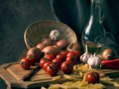 перец, tomato, нож