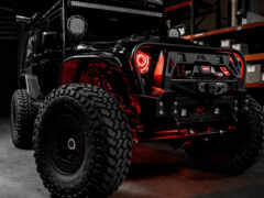 jeep, wrangler, black