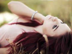 девушка, красивейшие, взгляд