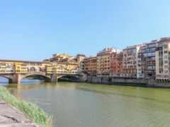 florence, мост, река