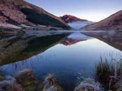 озеро, zealand, new