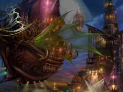 fly, корабль, fantasy