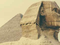 сфинкс, египет, пирамида