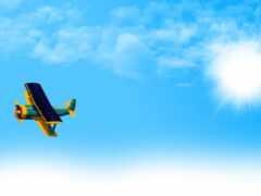 самолёт, fly