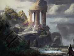 fentezti, храм, развалины
