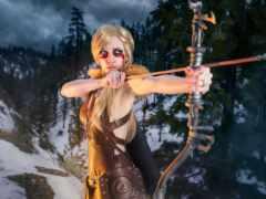 cosplay, fantasy, skyrim