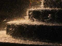 ступеньки, лестница, water