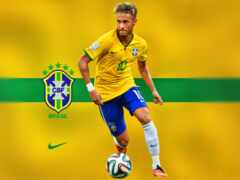 neymar, brazil, флаг