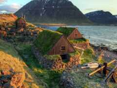 пина, деревня, iceland