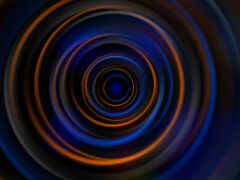 blue, оранжевый, circle
