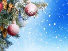 новым, годом, рождеством