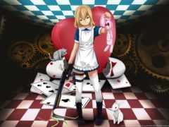 алиса, wonderland, anime