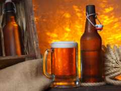 пиво, circle, bebida