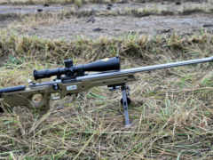винтовка, снайперская натраве
