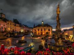 ночь, австрия, austrian