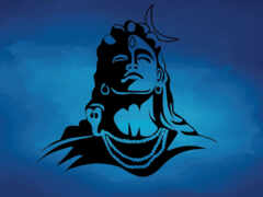 shiva, lord, blue