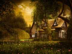 дерево, art, fantasy