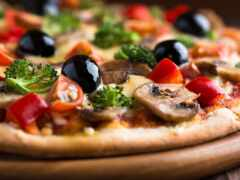 пицца, ресторан, вкусно
