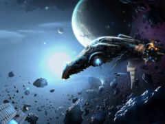 cosmic, корабль, game