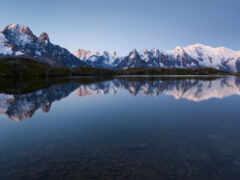 красивый, природа, озеро