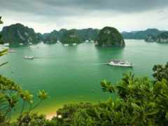 bay, halong, vietnam Фон № 139292 разрешение 1920x1200