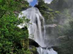 водопад, природа, vodyt