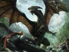 дракон, рыцарь, game