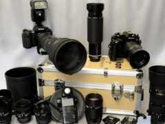 nikon, lente, фотоаппарат