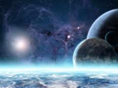 land, cosmos, космоса