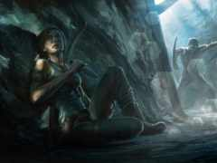 raider, tomb, лара