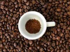 coffee, bean, вред