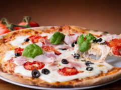пицца, блюдо
