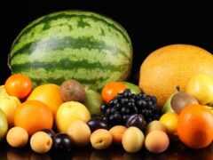 плод, мэлон, арбуз